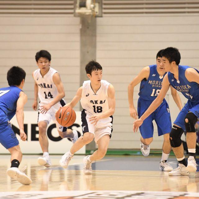 男子1回戦 東海大学付属札幌(北海道) 55-71 県立盛岡南(岩手)