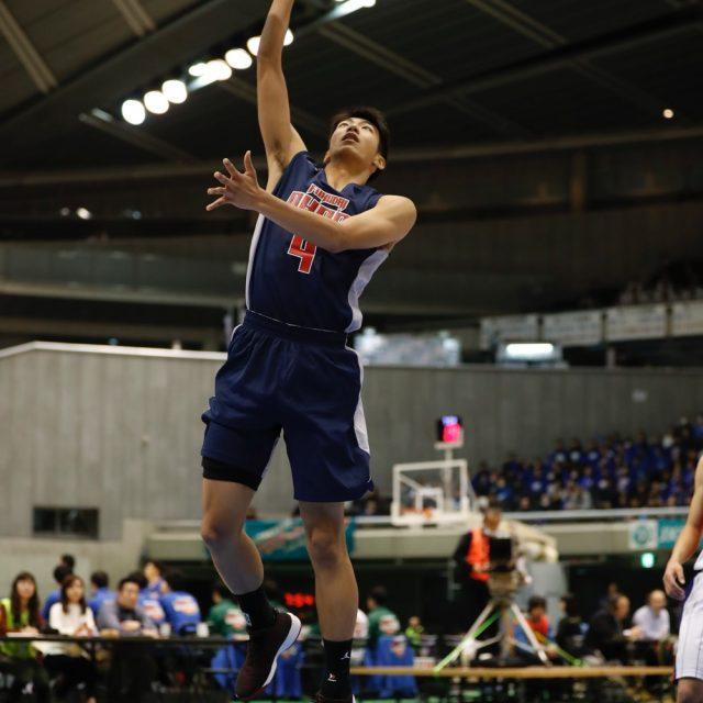 男子1回戦 美濃加茂(岐阜) 62-84 福岡大学附属大濠(福岡)