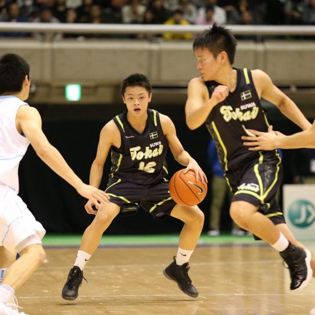 男子1回戦 土浦日本大学(茨城) 86-59 東海大学付属諏訪(長野)