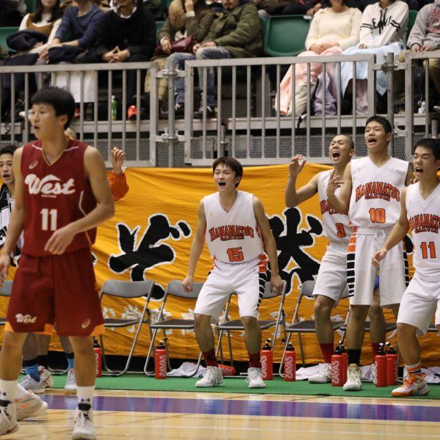 男子1回戦 浜松学院(静岡) 100-83 松江西(島根)