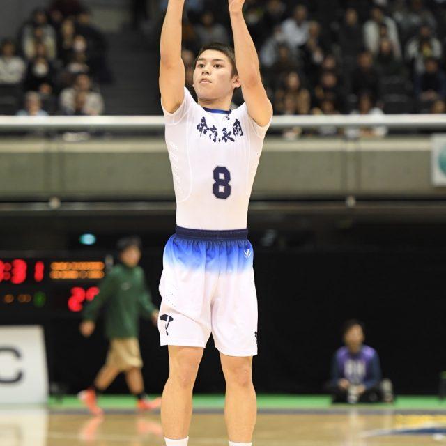 男子2回戦 帝京長岡(新潟) 91-55 尽誠学園(香川)