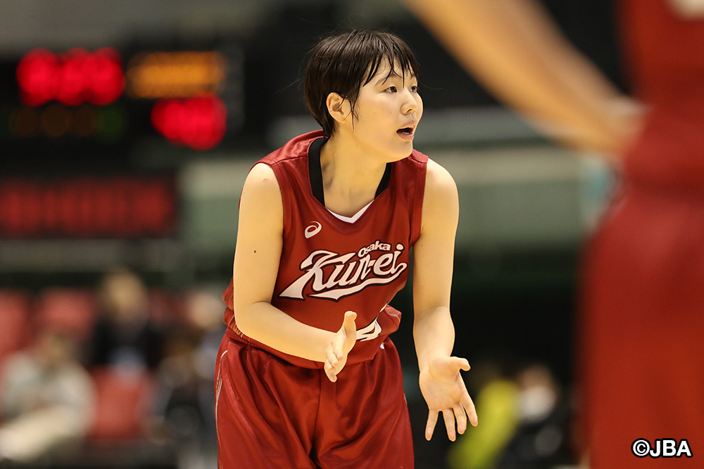 最後までチームメイトを鼓舞し続けた大阪薫英女学院のキャプテン④金田 愛奈選手