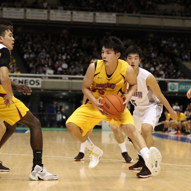 男子2回戦 福岡大学附属大濠(福岡) 83-86 北陸(福井)