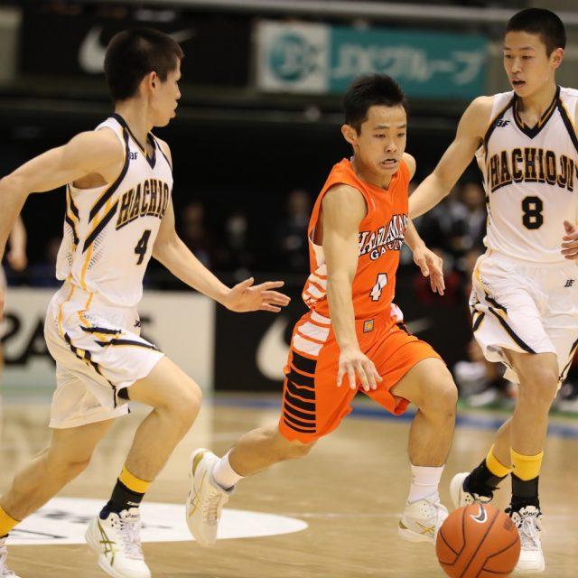 男子2回戦 八王子学園八王子(東京) 73-81 浜松学院(静岡)