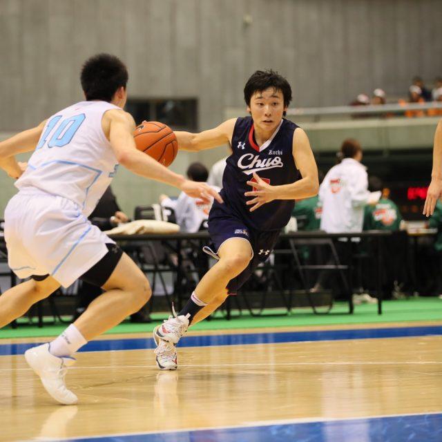 男子2回戦 土浦日本大学(茨城) 95-38 高知中央(高知)