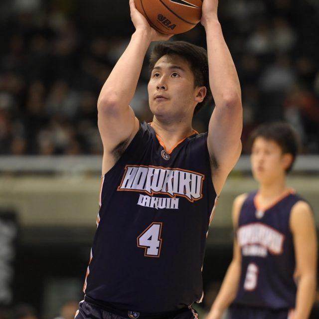男子2回戦 県立松山工業(愛媛) 73-74 北陸学院(石川)