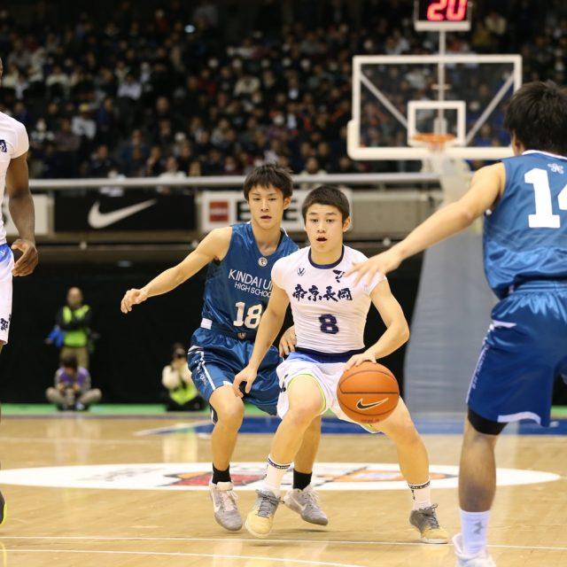 男子3回戦 帝京長岡(新潟) 91-57 近畿大学附属(大阪)