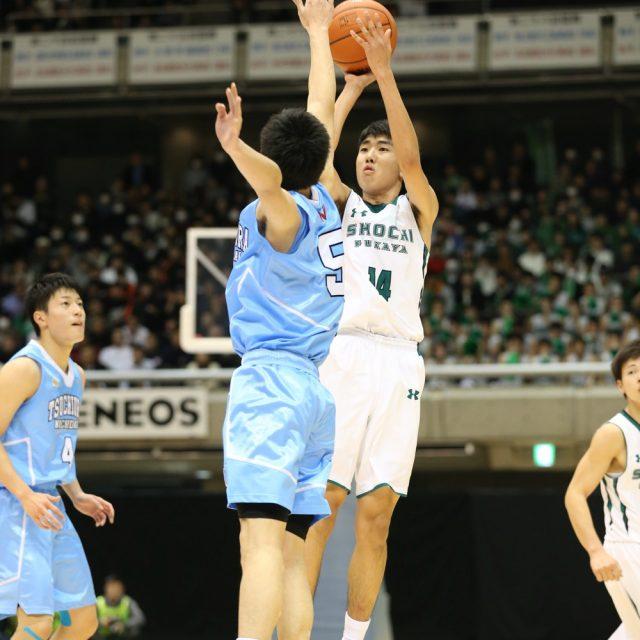 男子3回戦 正智深谷(埼玉) 93-97 土浦日本大学(茨城)