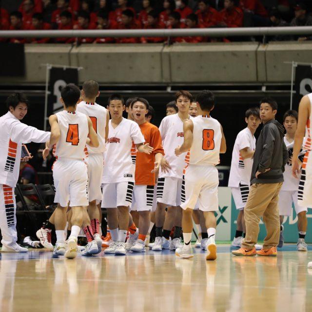 男子3回戦 浜松学院(静岡) 68-75 北陸学院(石川)