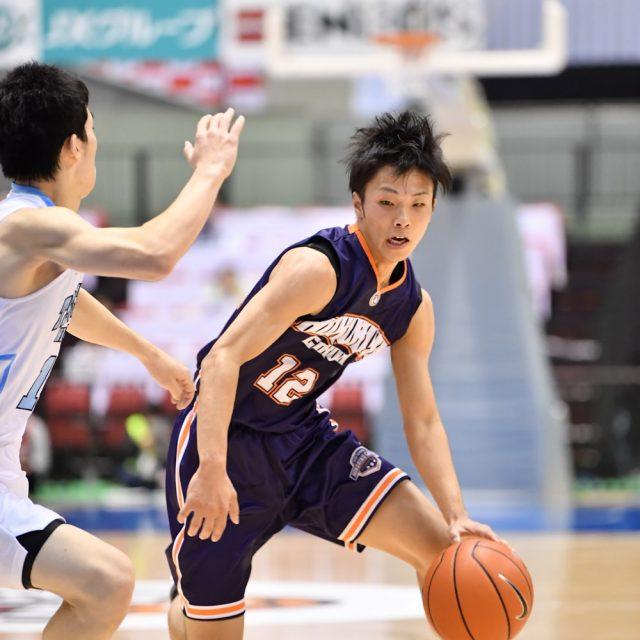 男子準々決勝 土浦日本大学(茨城) ● 65-80 ○ 北陸学院(石川)