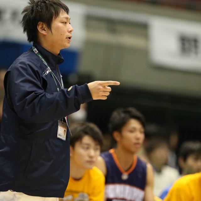 男子3位決定戦 帝京長岡(新潟) ● 49-59 ○ 北陸学院(石川)
