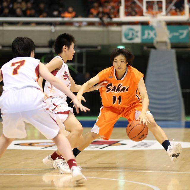 女子1回戦 柴田女子(青森) 67-72 埼玉栄(埼玉)