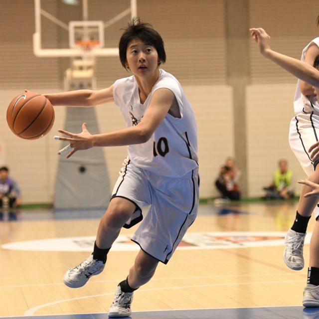 女子1回戦 聖カタリナ学園(愛媛) 69-65 県立長崎西(長崎)