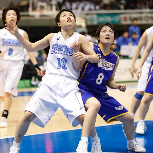 女子1回戦 聖和学園(宮城) 90-43 県立高瀬(香川)