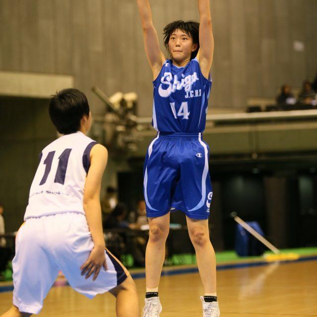 女子1回戦 県立松江商業(島根) 54-51 滋賀短期大学附属(滋賀)