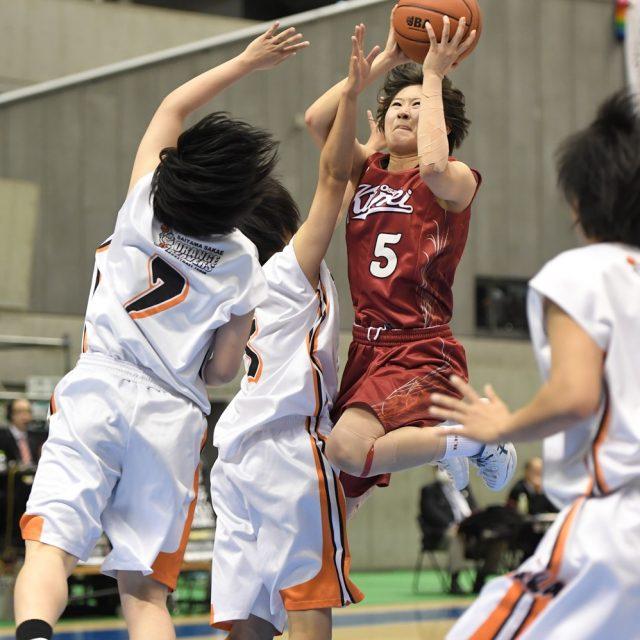 女子2回戦 埼玉栄(埼玉) 57-86 大阪薫英女学院(大阪)