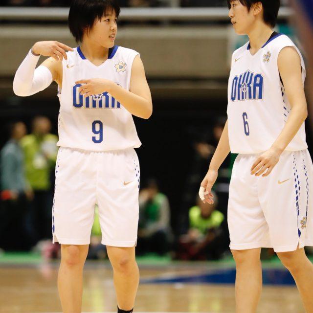 女子2回戦 桜花学園(高校総体1位・愛知) 137-42 倉吉北(鳥取)