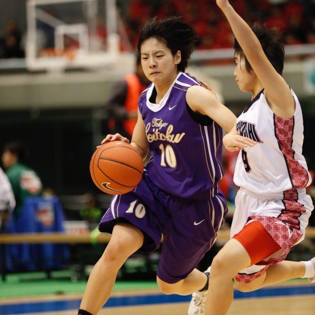 女子2回戦 県立小林(宮崎) 60-95 東京成徳大学(開催地)