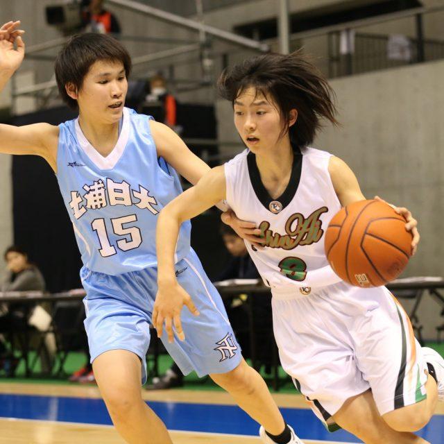 女子2回戦 和歌山信愛(和歌山) 74-64 土浦日本大学(茨城)