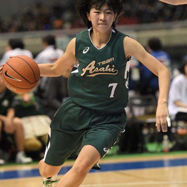 女子3回戦 八雲学園(東京) 99-89 県立旭(神奈川)
