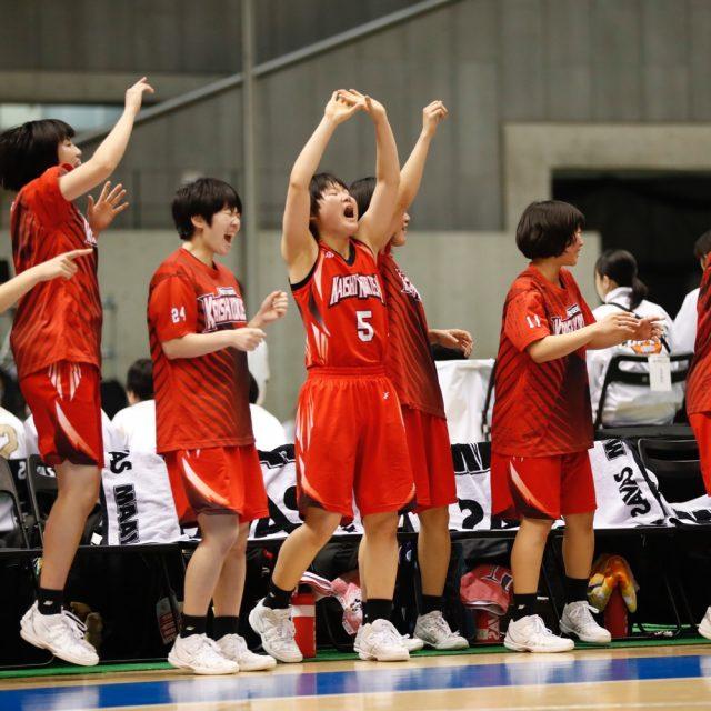 女子準々決勝 桜花学園(総体1位) 78-55 開志国際(新潟)