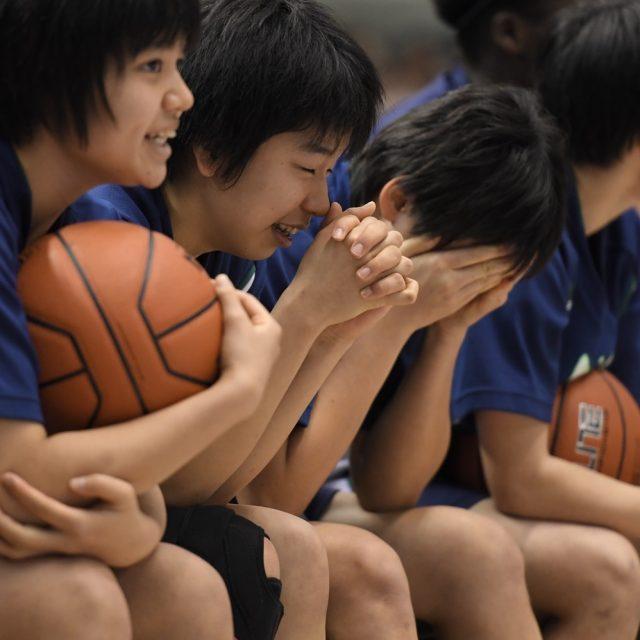 女子決勝 桜花学園(総体1位) ○ 67-65 ● 岐阜女子(総体2位)