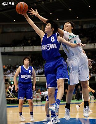 唯一、1回戦から勝ち上がってきた昭和学院(千葉)は5年連続準決勝進出
